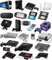 I buy sell and trade games and consoles