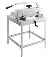 MBM 4700 Heavy Huty Cutter With Stand - The Ideal Paper Cutter
