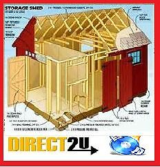 woodwork plans, Garden shed Plans + greenhouses, barns, Garages, log cabins