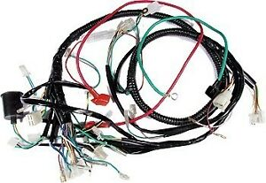 50cc universal scooter wiring harness complete gy6 four ... universal wiring harness for 4 wheeler wiring harness for suzuki 4 wheeler