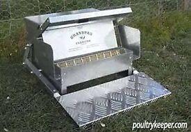 Grandpa's Automatic Chicken Feeder
