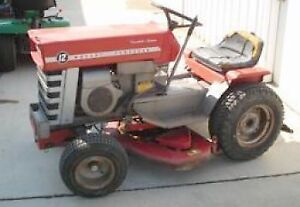 Looking for any brand of garden tractor running or not