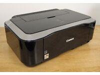 Printer Canon Pixma IP4600 + 9 Boxes of Ink Cartridges