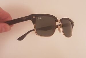 Ray-Ban Clubmaster Square (4190) Polarized, black/gold