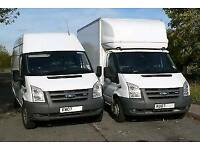 MAN & VAN REMOVALS HOUSE/OFFICE RUBBISB CLEARANCE PIANO MOVES 24/7