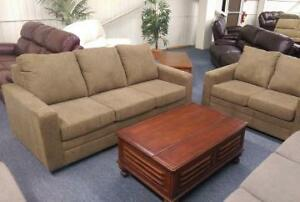 Brand NEW Brown Sofa and Loveseat Set! Call 204-772-3330!