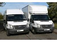 MAN & VAN REMOVALS HOUSE OFFICE RUBBISH COLLECTION PIANO MOVES 24/7
