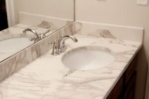 Grout free bathrooms