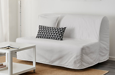 Sofa bed 2 seat + Free Extra Double Mattress