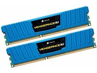 16Gb Corsair Vengeance RAM - DDR3 1600 Mhz CL9 XMP