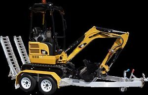Mini Excavator 1.7t dry hire $175  per day 1.7t cat FREE DELIVER Figtree Wollongong Area Preview