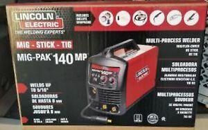 LINCOLN ELECTRIC 140 MP Multi-Process WELDER (BRAND NEW) -
