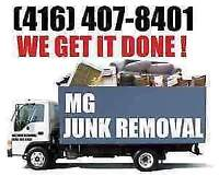 JUNK REMOVAL FROM - $100! FAST. FRIENDLY. NO BIN NO PROBLEM.