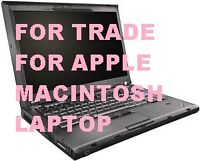 Lenovo T400 for Trade for Apple Macintosh Laptop