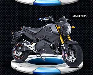 Emmo Knight Electric Scooter Look Like A Motorcycle Derand