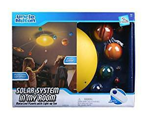 Solar System mobile with remote