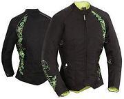 Womens Motorcycle Jacket Green