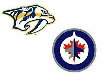 PREDATORS vs JETS - JAN 21, 4 SEATS SxS in P5!  Below Face Value
