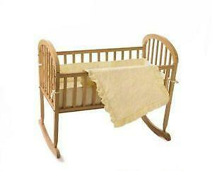 Only Antique victorian swinging bassinet was busty