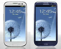 Like New Blue & White Unlocked Samsung Galaxy S3 for sale