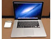 """Macbook Pro 15"""" - Late 2011 - i7 - 2.2GHz - 4gb - 500gb - Receipt & Warranty"""