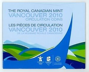 2010 Olympic Coin Set Cornwall Ontario image 2