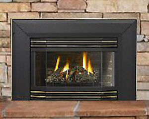 Regency Gas Fireplace Insert - replace your draft with heat!