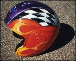 HOCKEY MASKS & HELMETS PAINTED Kawartha Lakes Peterborough Area image 2