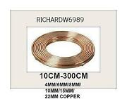 10mm Copper Tube
