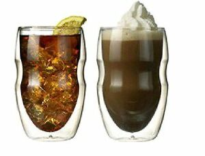 Double wall Insulated Beverage and Coffee Glasses