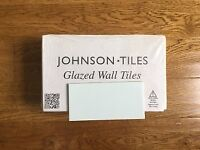Johnson Glacier Blue Gloss Oblong Wall Tiles - 2 boxes