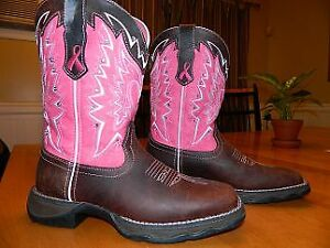 Bottes western / de cowboy Durango Pink Ribbon Lady Rebel