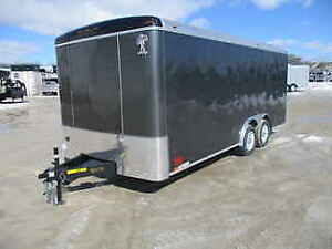 2018 Enclosed Cargo Trailer - 8x18 - Atlas