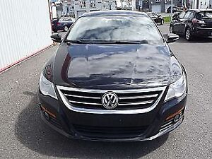 Luxurious Black Volkswagen Passat CC 2009