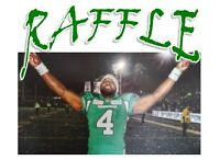 "Win an AUTOGRAPHED 20"" X 29"" canvas print of Darian Durant!"