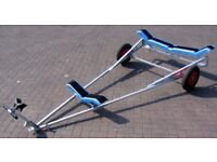 New Mersea Trailers Dinghy Launching Trolley