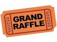 2 people required to sell charity raffle tickets, evening of Saturday 17th June