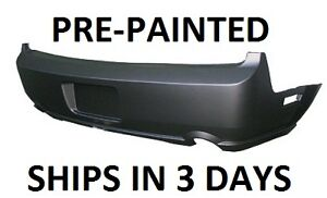 New Painted to Match - Rear Bumper Cover 2005-2009 Ford Mustang GT
