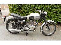 1958 Classic Triumph T100 in very good condition