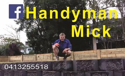 Handyman Mick and Son.