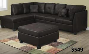 Furniture Warehouse Sofas,:Bedroom Sets, Dinette, Coffee tables, Custom made also available Call: 416-743-7700