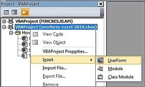 VBA Excel Project and Consulting Service