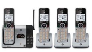 AT&T 4 Handset Cordless Answering System with Caller ID-Call Wai