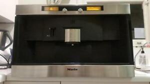 Miele automatic built-in esspresso coffee station
