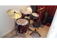 Ashton Juniors Drum Set for sale