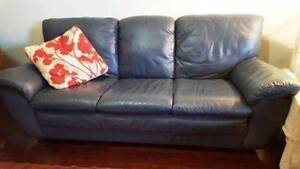 7 Foot Italian Leather Couch. Most comfortable couch in the univ