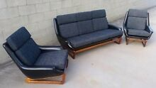Retro Danish Deluxe Nagila Lounge And Armchairs Vintage Essendon Moonee Valley Preview