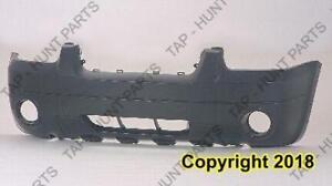 Bumper Front Primed With Fog Lamp Hole /Flare Ltd/Xlt Model Ford Escape 2005-2007