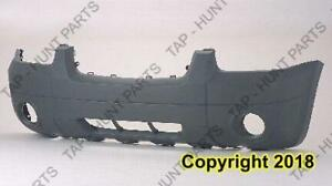 Bumper Front Textured Xlt With Fog Lamp Hole Without Flare  Ford Escape 2005-2007
