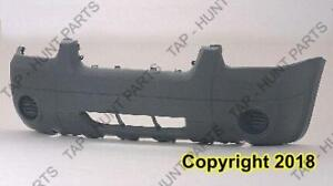 Bumper Front Textured Xls Without Fog Without Flare Ford Escape 2005-2007